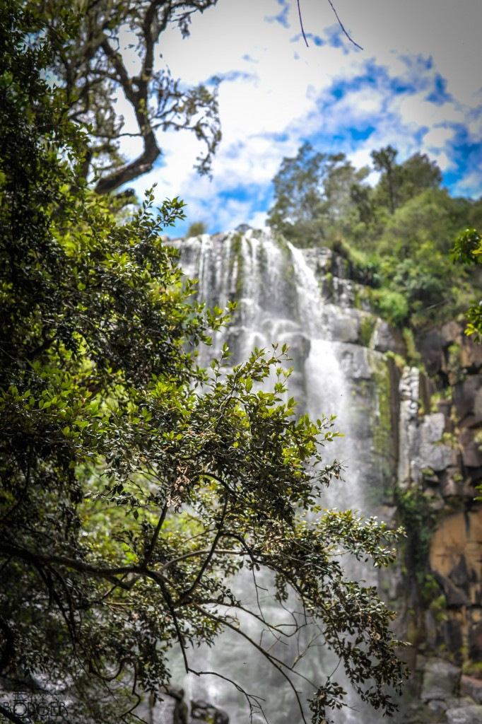 Madonna and child waterfall in the Hogsback